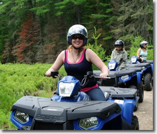 Photo of the SADC staff on an ATV tour